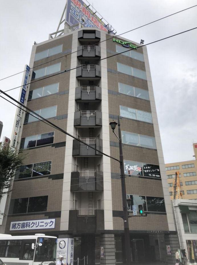 【熊本市 中央区水道町】ワンフロアワンテナント、窓面が多いオフィス 2F