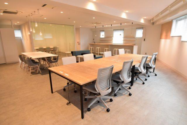 【品川区 西五反田】会議室・家具付のオシャレなオフィス