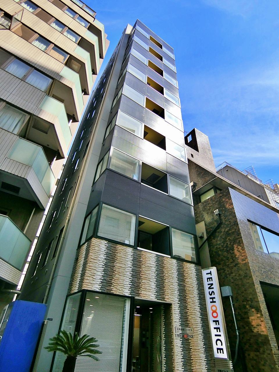 【港区 新橋5丁目】新橋駅から徒歩4分、新築オフィスビル!