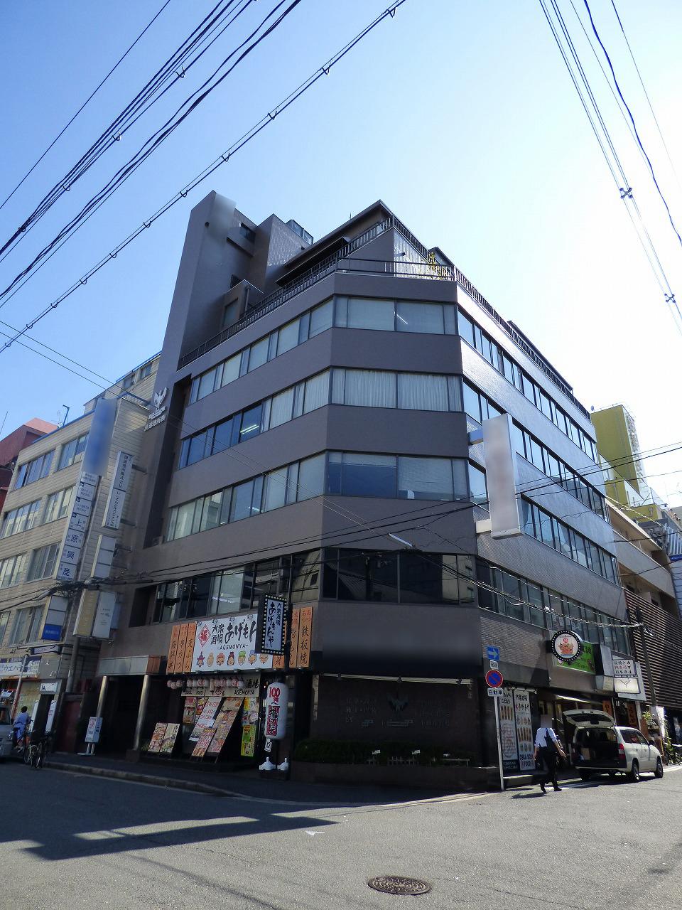 【大阪市北区兎我野町】東梅田に位置するレトロなオフィスビル