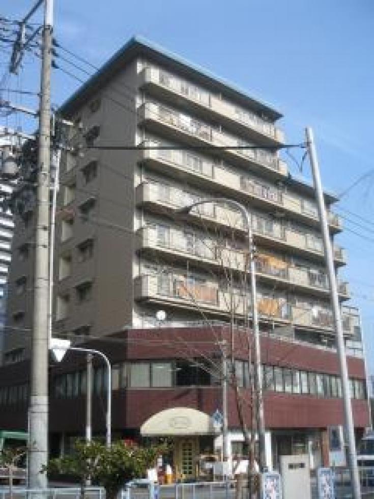 【大阪市北区天満】ビル近くに緑と川のある素敵な環境