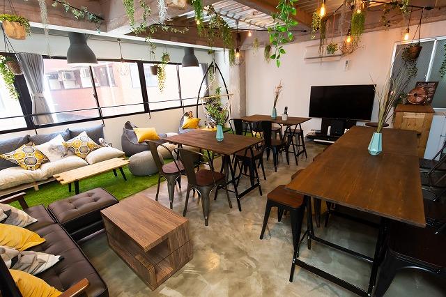 【台東区 浅草橋】家具家電つきの緑豊かなレンタルスペース